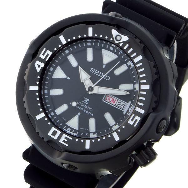 セイコー SEIKO プロスペックス PROSPEX ダイバー 自動巻き メンズ 腕時計 SRPA81K1 ブラック