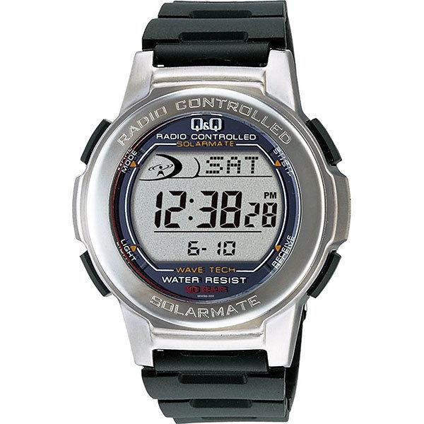 シチズン CITIZEN 電波ソーラー メンズ 腕時計 MHS5-300 ブラック