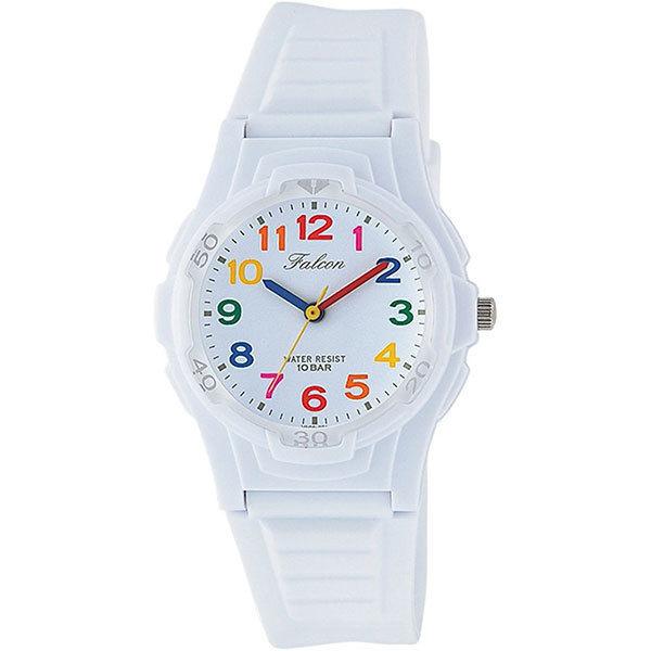 シチズン CITIZEN キューアンドキュー Q&Q ファルコン 10気圧防水 ユニセックス 腕時計 VS06-001 ホワイト