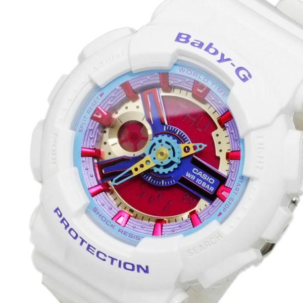 カシオ CASIO ベビーG BABY-G レディース アナデジ 腕時計 BA-112-7A
