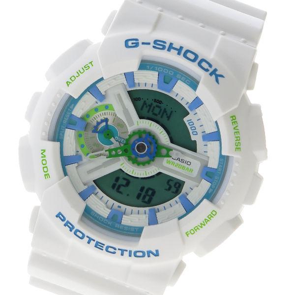 カシオ CASIO G-SHOCK デジタル クロノ クオーツ メンズ 腕時計 GA-110WG-7ADR グリーン