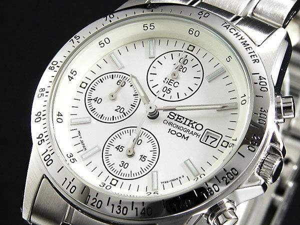 セイコー SEIKO クロノグラフ メンズ 腕時計 SND363