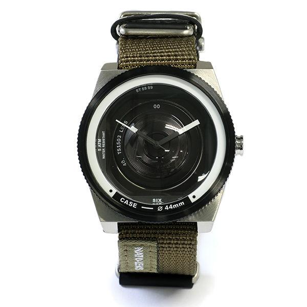 タックス TACS NATO LENS メンズ 腕時計 TS1503A ブラック×カーキ