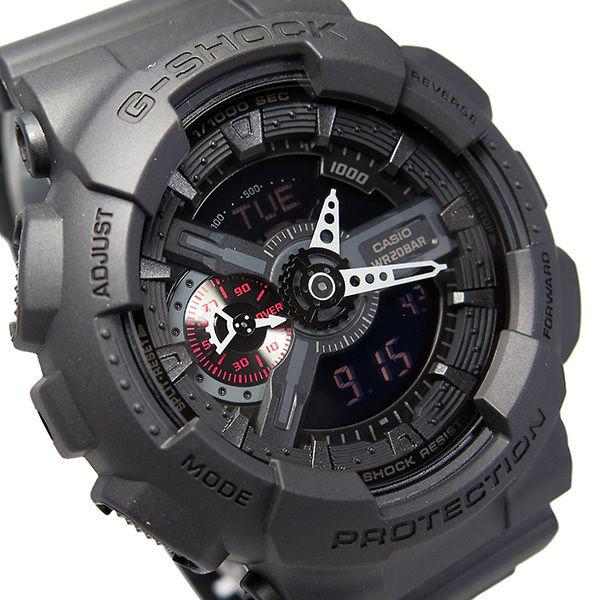 カシオ CASIO Gショック G-SHOCK クオーツ メンズ 腕時計 GA-110MB-1A ブラック