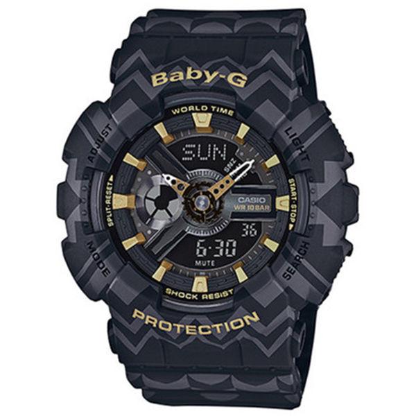 カシオ CASIO ベビーG BABY-G トライバル クオーツ レディース 腕時計 BA-110TP-1A ブラックトライバル