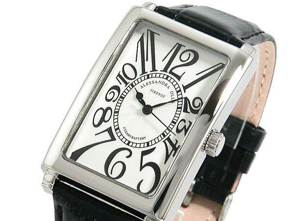 アレッサンドラ オーラ ALESSANDRA OLLA メンズ 腕時計 AO-4500-WHBK