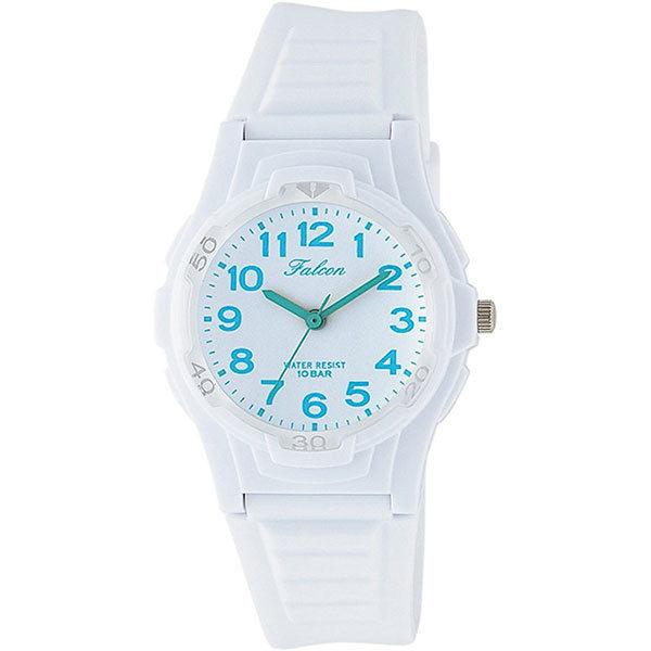 シチズン CITIZEN キューアンドキュー Q&Q ファルコン 10気圧防水 ユニセックス 腕時計 VS06-005 ホワイト