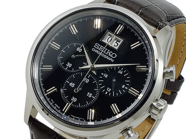 セイコー SEIKO クロノグラフ メンズ 腕時計 SPC083P2
