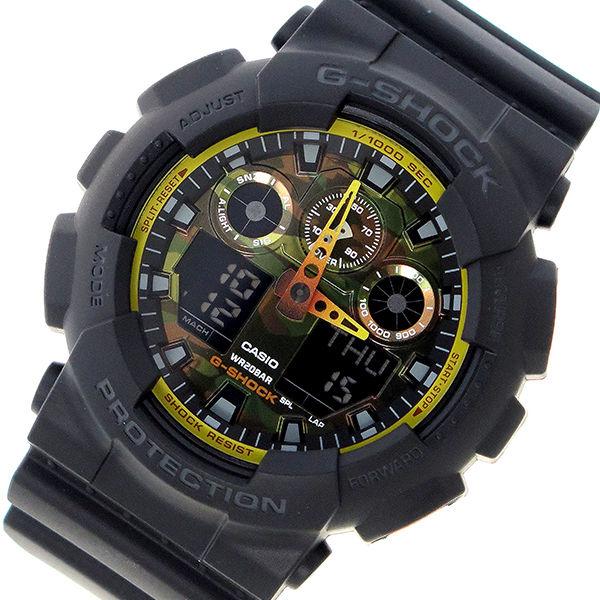 カシオ CASIO Gショック G-SHOCK クオーツ メンズ 腕時計 GA-100BY-1A カモフラージュ