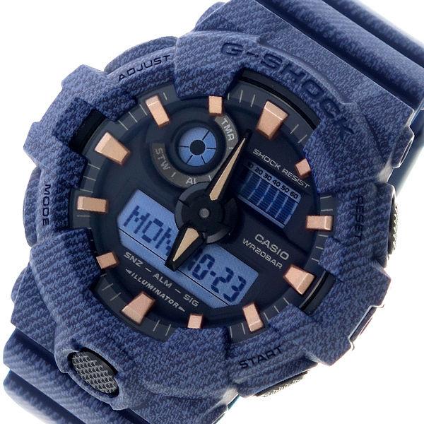 カシオ CASIO Gショック G-SHOCK クオーツ メンズ 腕時計 GA-700DE-2A ブラック