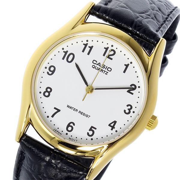 カシオ CASIO スタンダード クオーツ ユニセックス 腕時計 MTP-1094Q-7B1 ホワイト