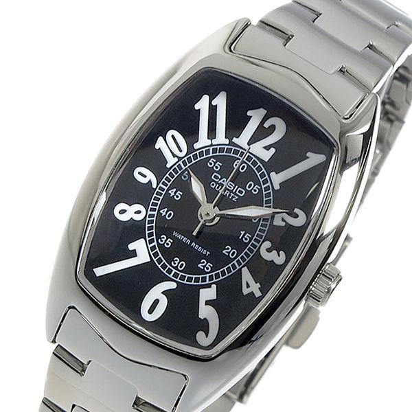 カシオ CASIO クオーツ レディース 腕時計 LTP-1208D-1B ブラック