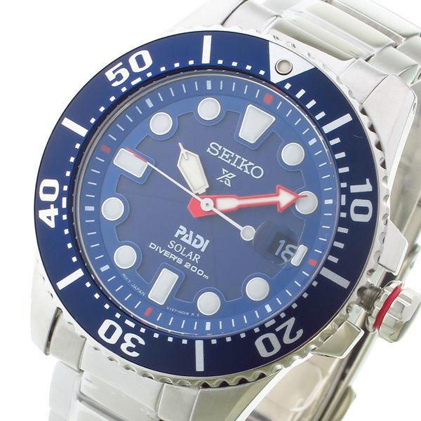 セイコー プロスペックス ソーラー クオーツ メンズ 腕時計 SNE435P1 ネイビー