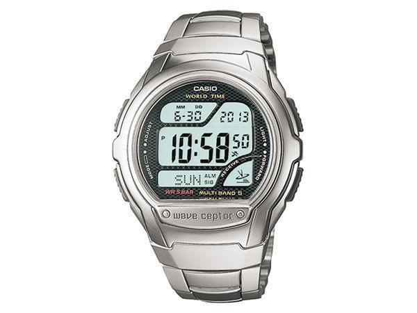 カシオ CASIO ウェーブセプター 電波受信 メンズ 腕時計 WV-58DJ-1AJF