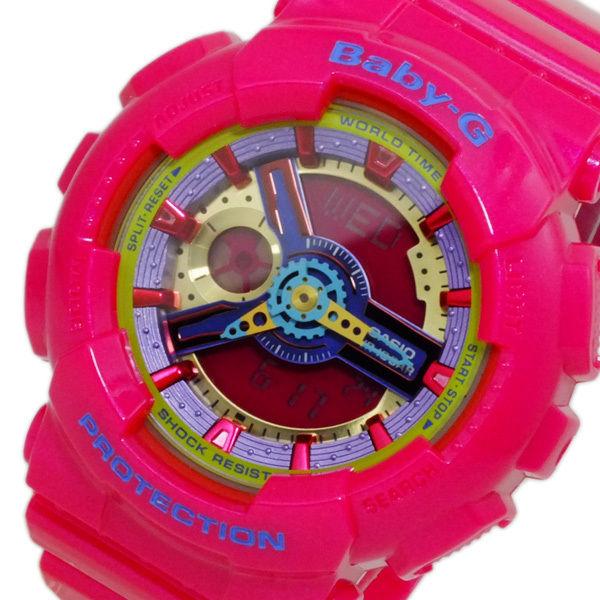 カシオ CASIO ベビーG BABY-G ビッグケース レディース 腕時計 BA-112-4A ピンク