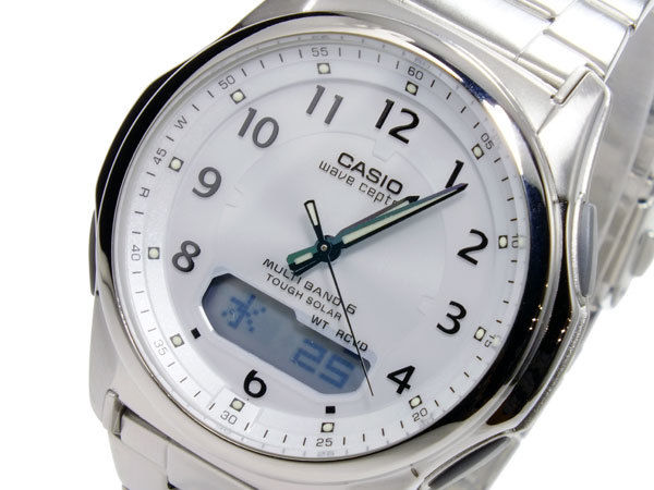 カシオ CASIO ウェーブセプター WAVE CEPTOR ソーラー メンズ 腕時計 WVA-M630D-7AJF