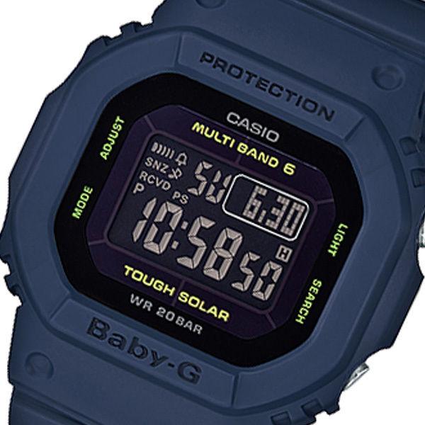 カシオ CASIO ベビーG BABY-G デジタル クオーツ レディース 腕時計 BGD-5000-2JF ブラック 国内正規
