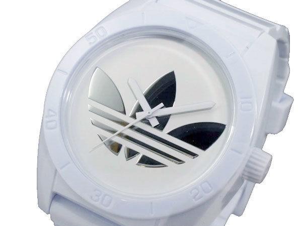 アディダス ADIDAS サンティアゴ SANTIAGO メンズ 腕時計 ADH2703 ホワイト