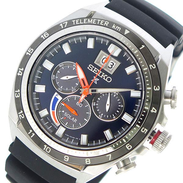 セイコー SEIKO プロスペックス PROSPEX ソーラー メンズ 腕時計 SSC605P1 ネイビー