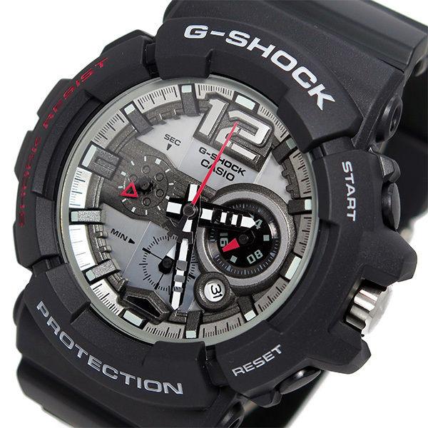 カシオ Gショック クオーツ メンズ 腕時計 GAC-110-1A ブラック