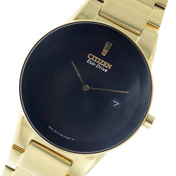 シチズン CITIZEN エコドライブ クオーツ メンズ 腕時計 AU1062-56E ブラック