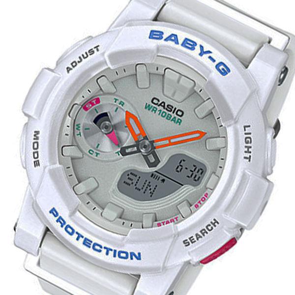 カシオ ベビーG フォーランニング クオーツ レディース 腕時計 BGA-185-7A ホワイト