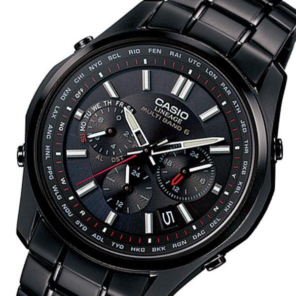 カシオ リニエージ 電波 ソーラー メンズ 腕時計 LIW-M610DB-1AJF ブラック 国内正規