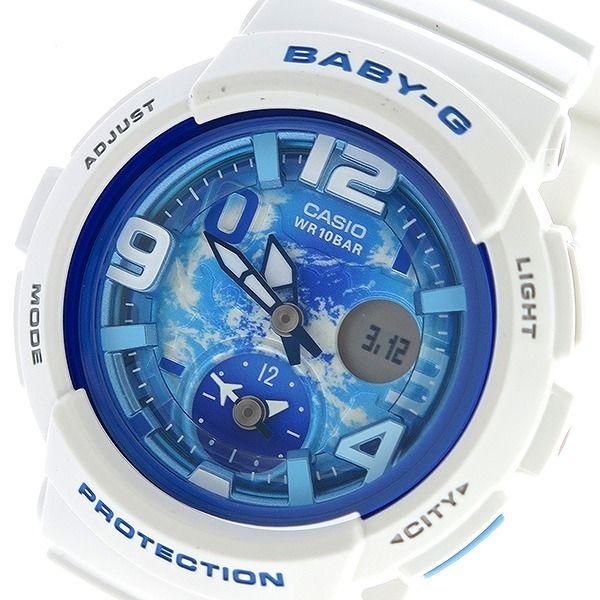 カシオ CASIO ベビーG BABY-G ビーチトラベラー Beach Traveler クオーツ レディース 腕時計 BGA-190GL-7B ブルー