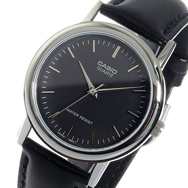 カシオ CASIO クオーツ メンズ 腕時計 MTP-1095E-1A ブラック