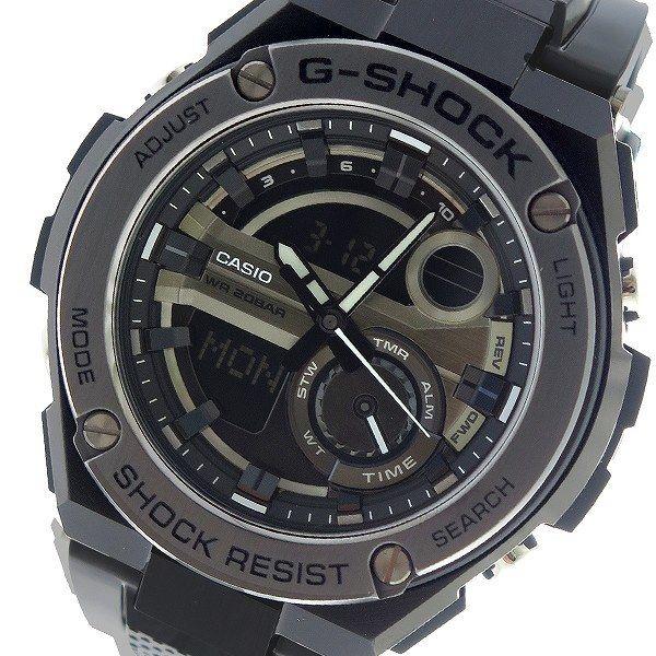 カシオ CASIO Gショック G-SHOCK クオーツ メンズ 腕時計 GST-210M-1A ブラック