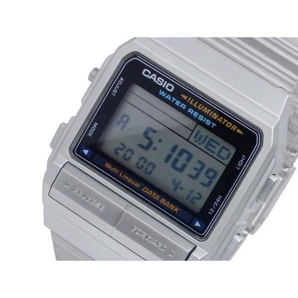 カシオ CASIO データバンク DATA BANK デジタル メンズ 腕時計 DB-380-1DF
