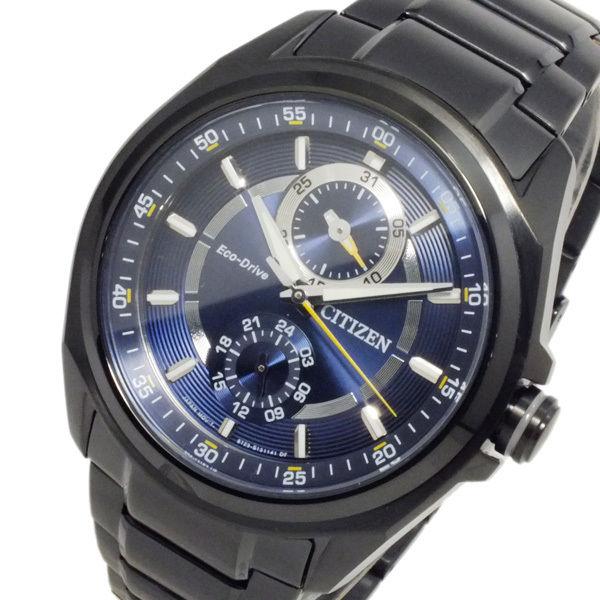 シチズン CITIZEN エコドライブ クオーツ メンズ 腕時計 BU3005-51L ブルー