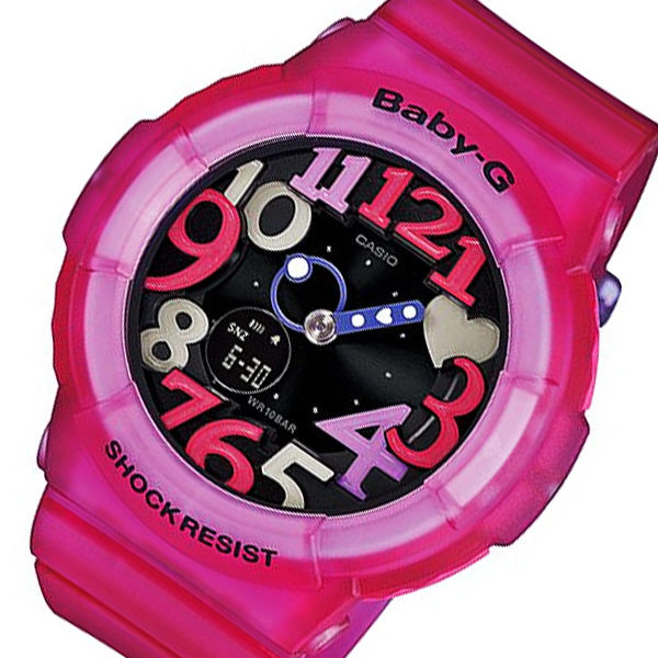 カシオ ベビーG ジェリーマリンシリーズ レディース 腕時計 BGA-131-4B4 ローズ