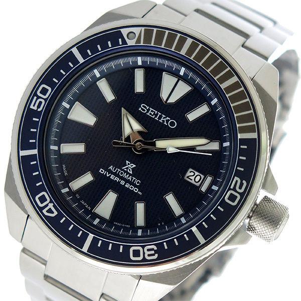 セイコー SEIKO プロスペックス PROSPEX 自動巻き メンズ 腕時計 SRPB49J1 ネイビー