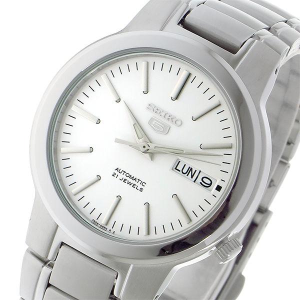 セイコー SEIKO セイコー5 SEIKO 5 自動巻き メンズ 腕時計 SNKA01K1 ホワイト