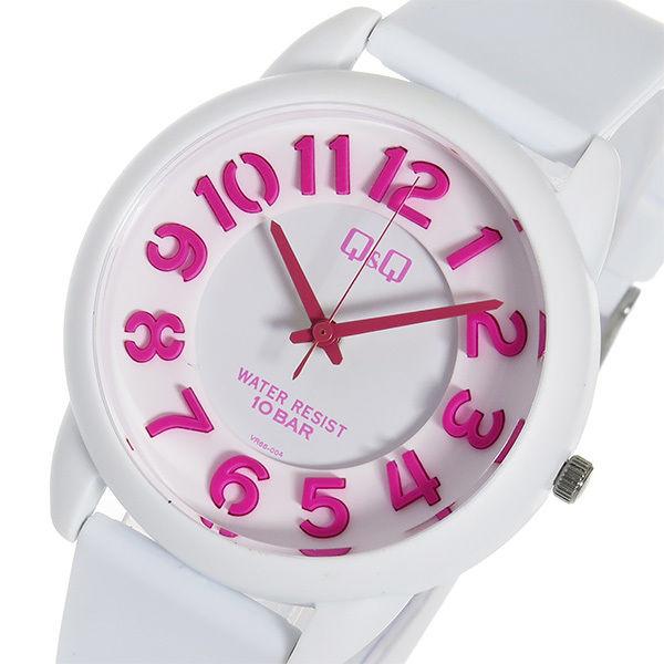 シチズン キューアンドキュー クオーツ ユニセックス 腕時計 VR66-004 ホワイト