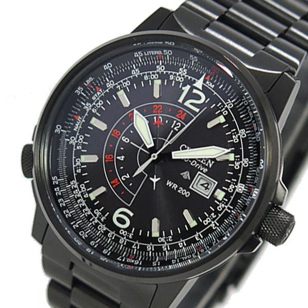 シチズン クオーツ プロマスター PROMASTER メンズ 腕時計 BJ7019-62E ブラック