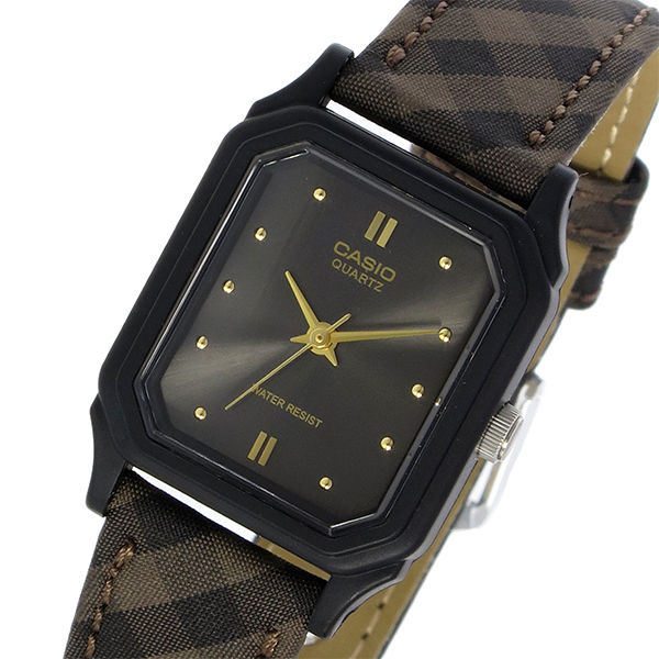 カシオ CASIO スタンダード クオーツ レディース 腕時計 LQ-142LB-1A メタルブラック