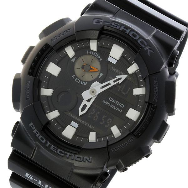 カシオ CASIO Gショック G-SHOCK Gライド G-LIDE クオーツ メンズ 腕時計 GAX-100B-1A ブラック