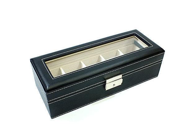 腕時計 コレクションボックス レザー 収納ケース 時計5本収納 RWBSW1679