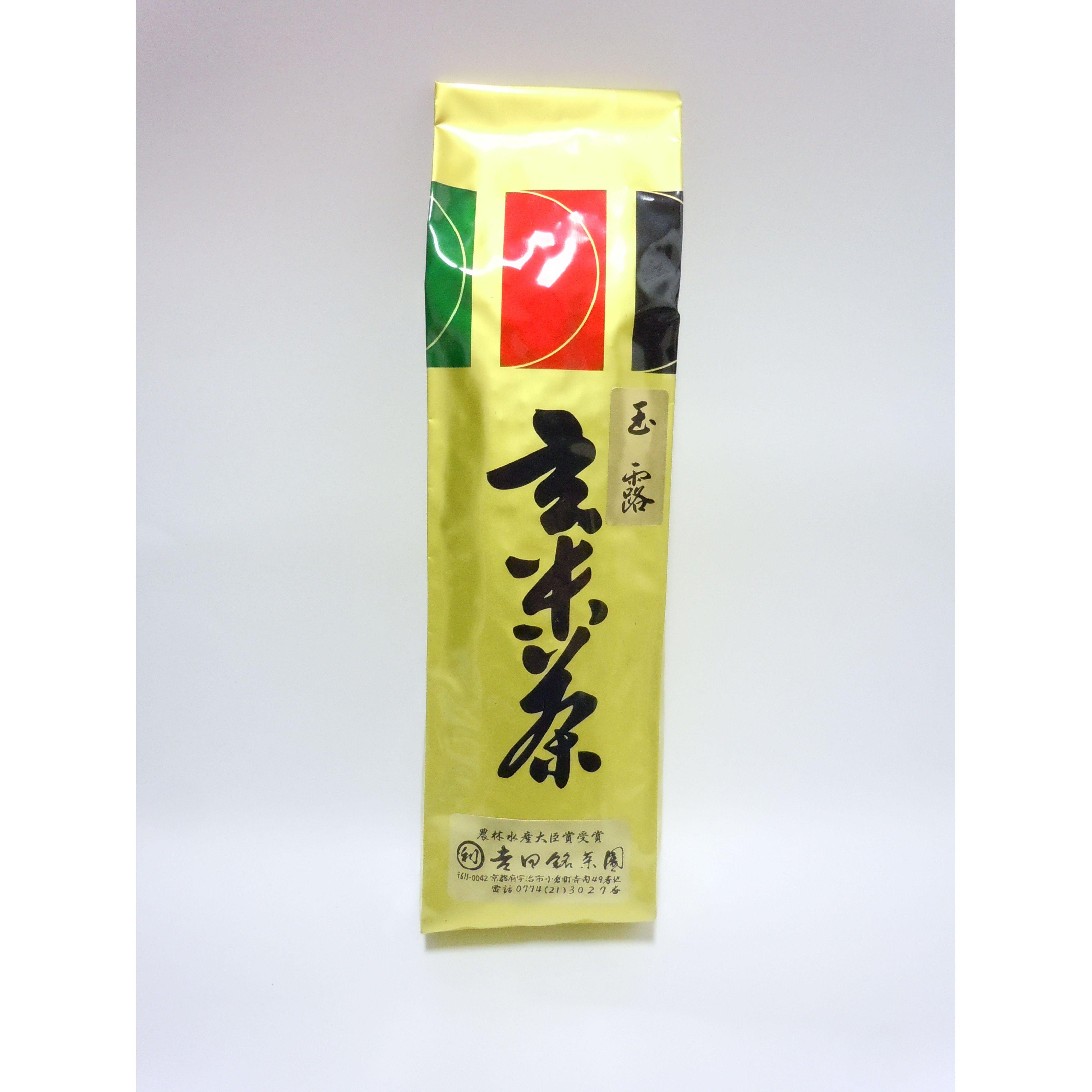 玉露玄米茶200g袋入り