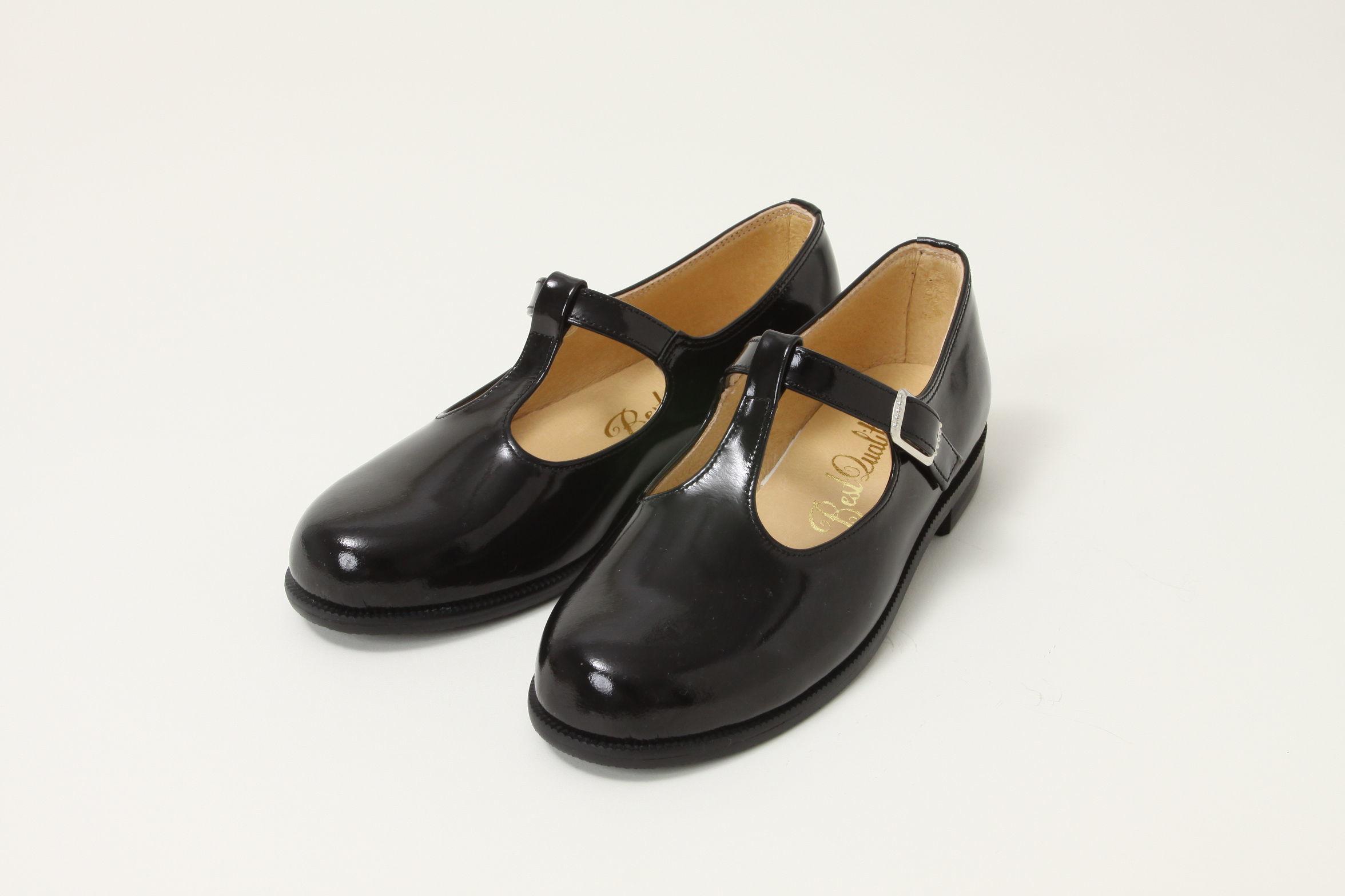 子供靴(丁字・黒)