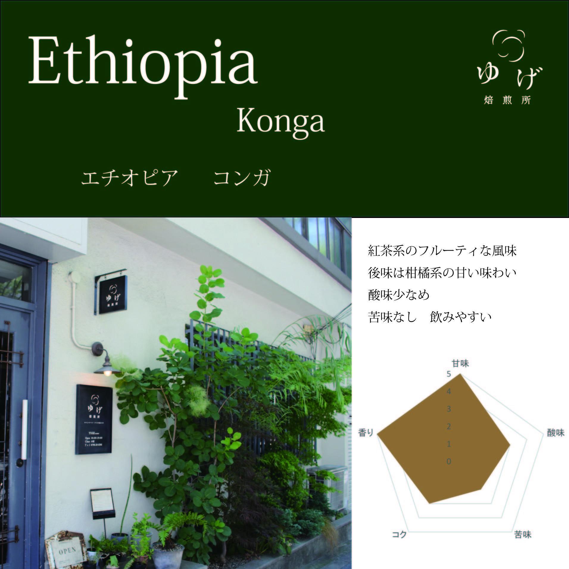 エチオピア    コンガ農協 200g