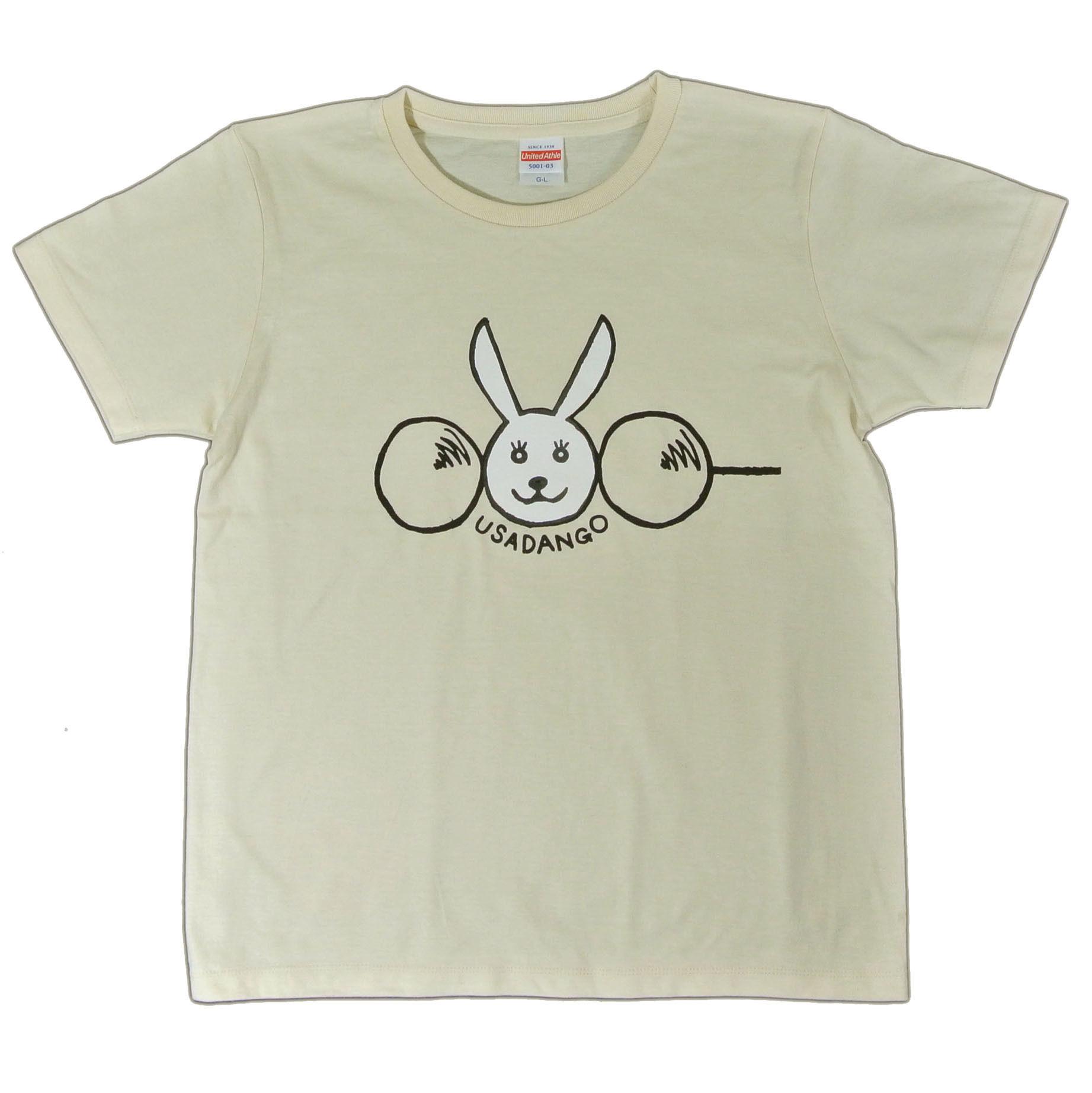 新うさだんごTシャツ レディース