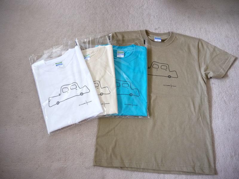 オリジナルTシャツ くるま