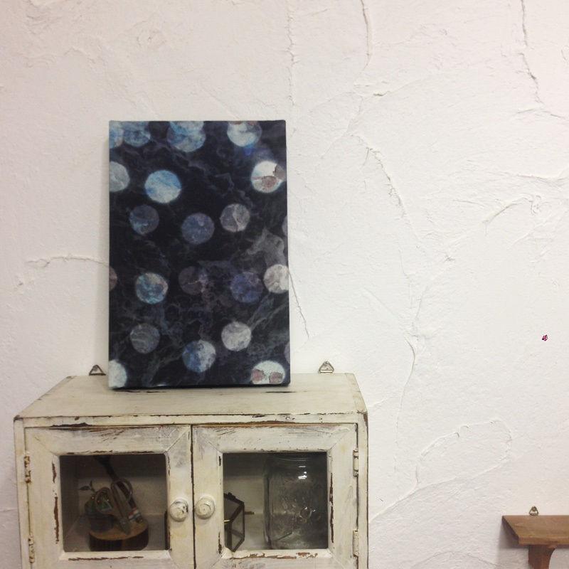 【yuone】オリジナルプリント柄壁掛けパネル-一つの泡-