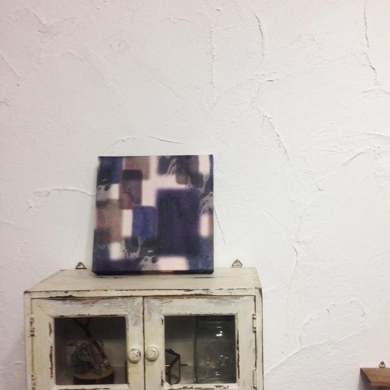 【yuone】オリジナルプリント柄壁掛けパネル-力-