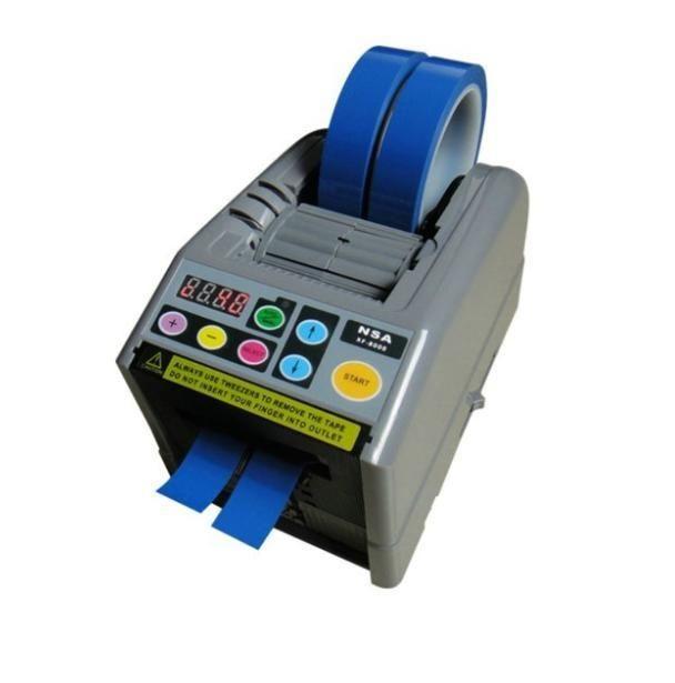 電動テープカッター 自動カット 自動テープディスペンサー 幅6-60mm、長さ5-999mm