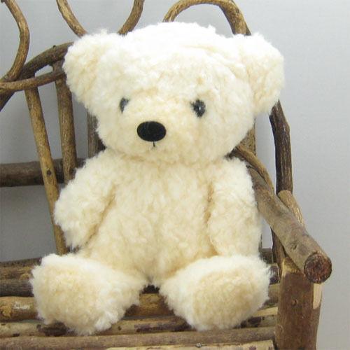 mocopalcchi(モコパルッチ) クマのフカフカ ぬいぐるみ Sサイズ クリーム