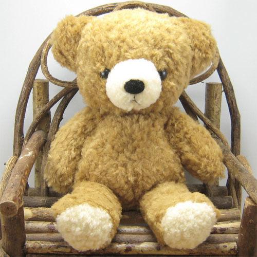 mocopalcchi(モコパルッチ) クマのフカフカ ぬいぐるみ Mサイズ ブラウン